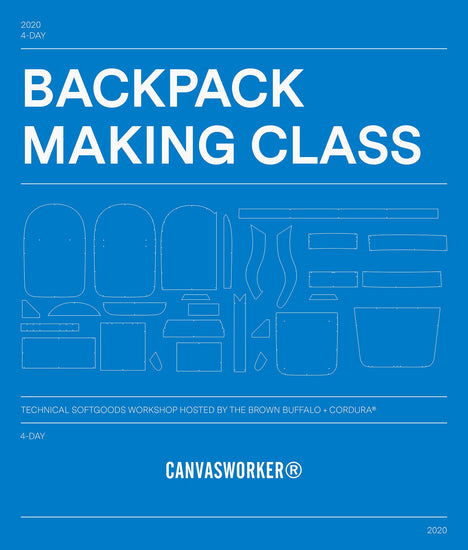Backpack Making Class | Conceal Rucksack - October 13-16, 2020
