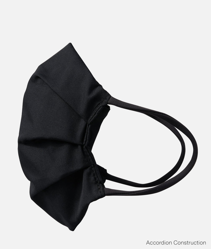 Face Mask Cover - Black Chambray