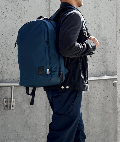 Conceal Backpack - Navy 420D Nylon