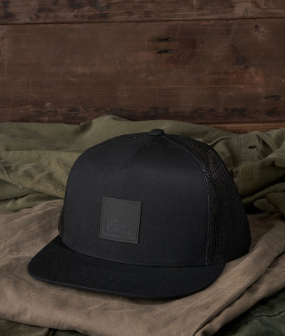 Trucker Snapback Hat - Stormproof® Black
