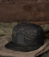 Trucker Snapback Hat - MultiCam® Black