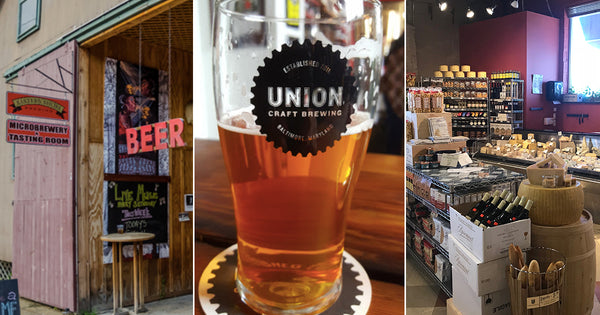 Dundalk Dan's Retailer Spotlight: Eastern Shore Brewing, Union Craft Brewing, + The Wine Source