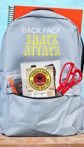 Dundalk Dan's Awesome Beef Jerky Multi-Pack Back Pack Snack Attack