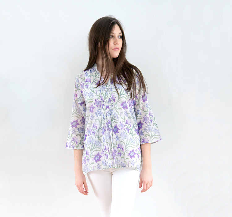 Pintuck Blouse