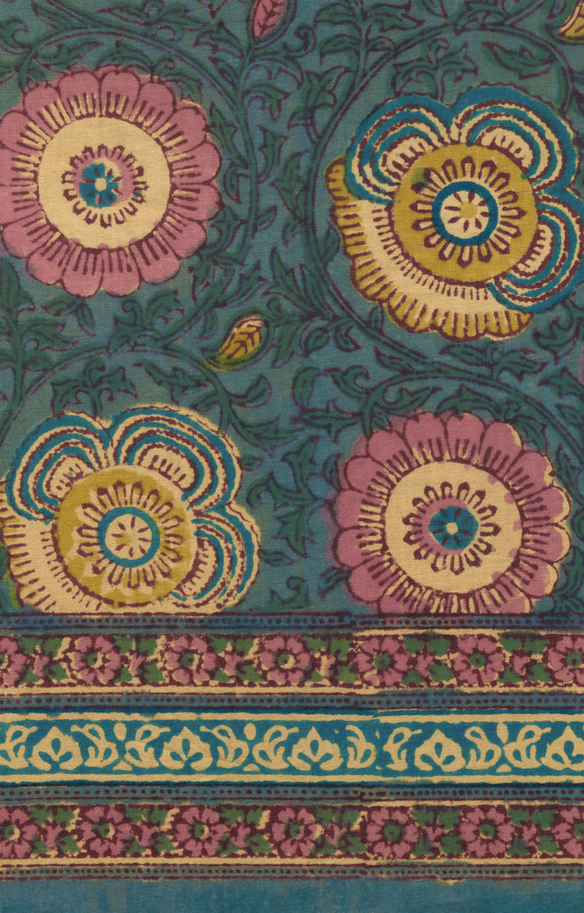 Table Linens in Ancient Floral