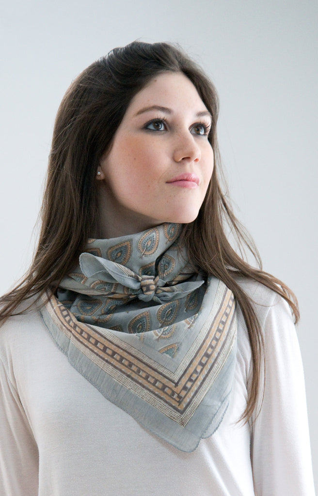 Scarf in Antique Cypress