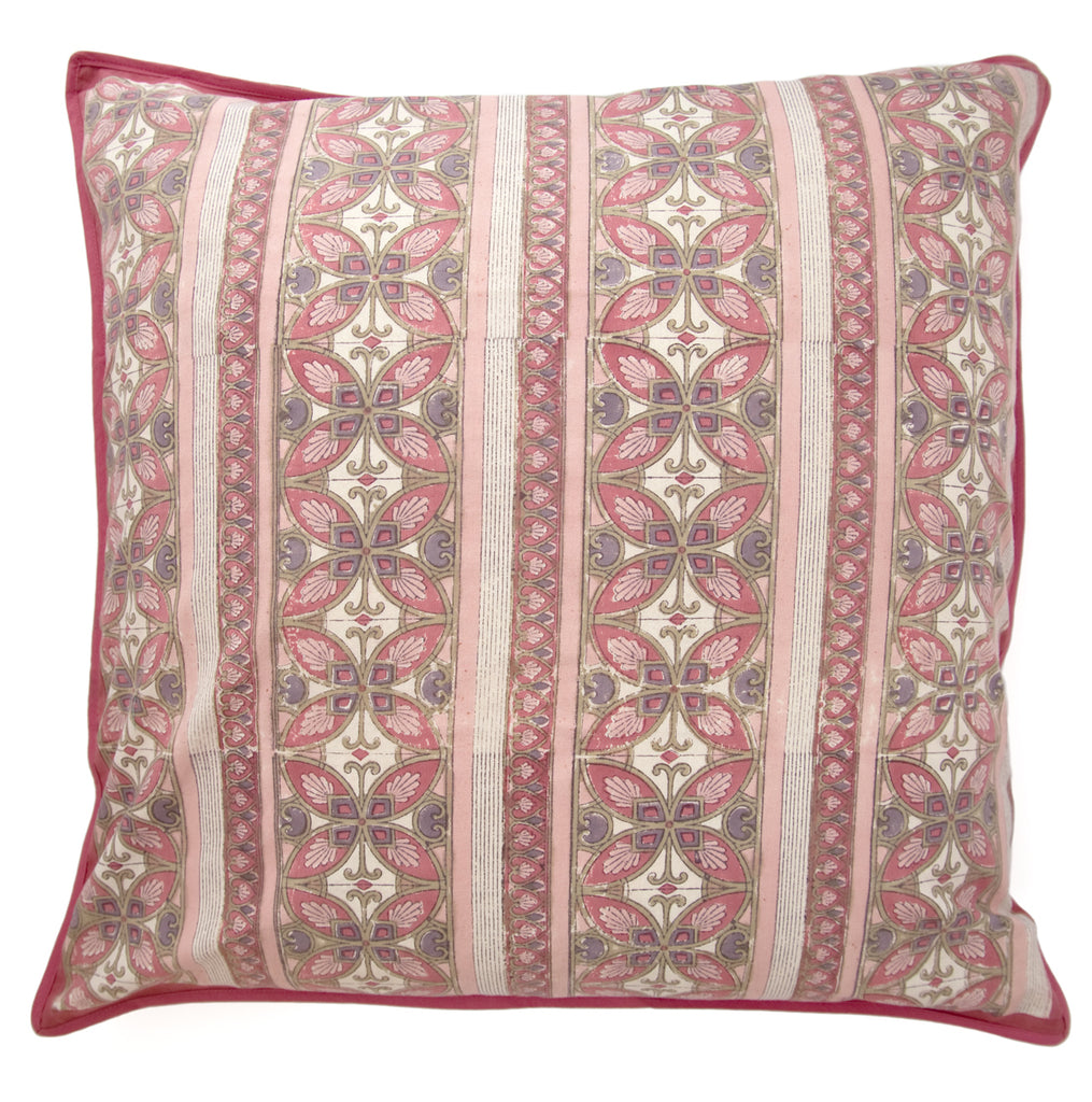Cushion Covers in Rose Mosaic