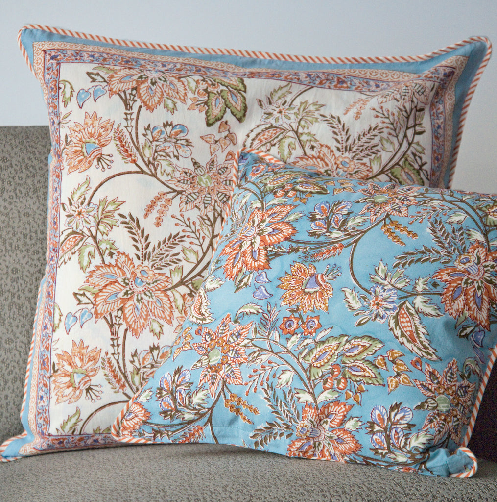 Cushion Covers in Autumn Day