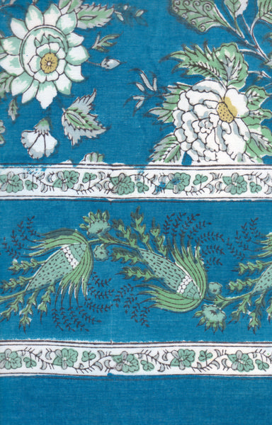 Merveilleux Table Linens In Briar Rose Blue $54.00 To $110.00