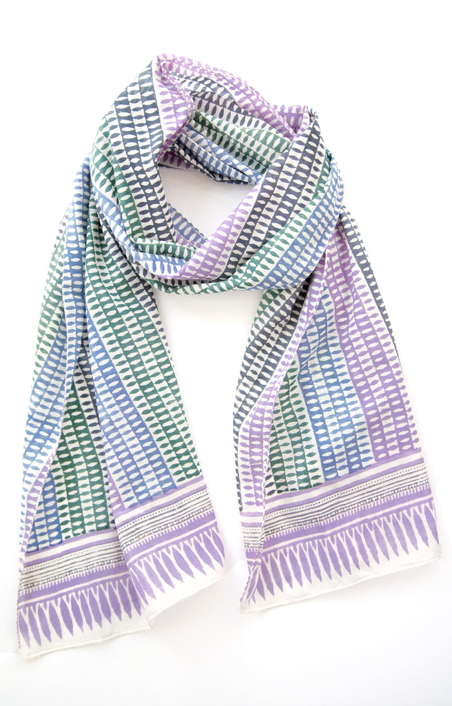Scarf in Candle Stripe
