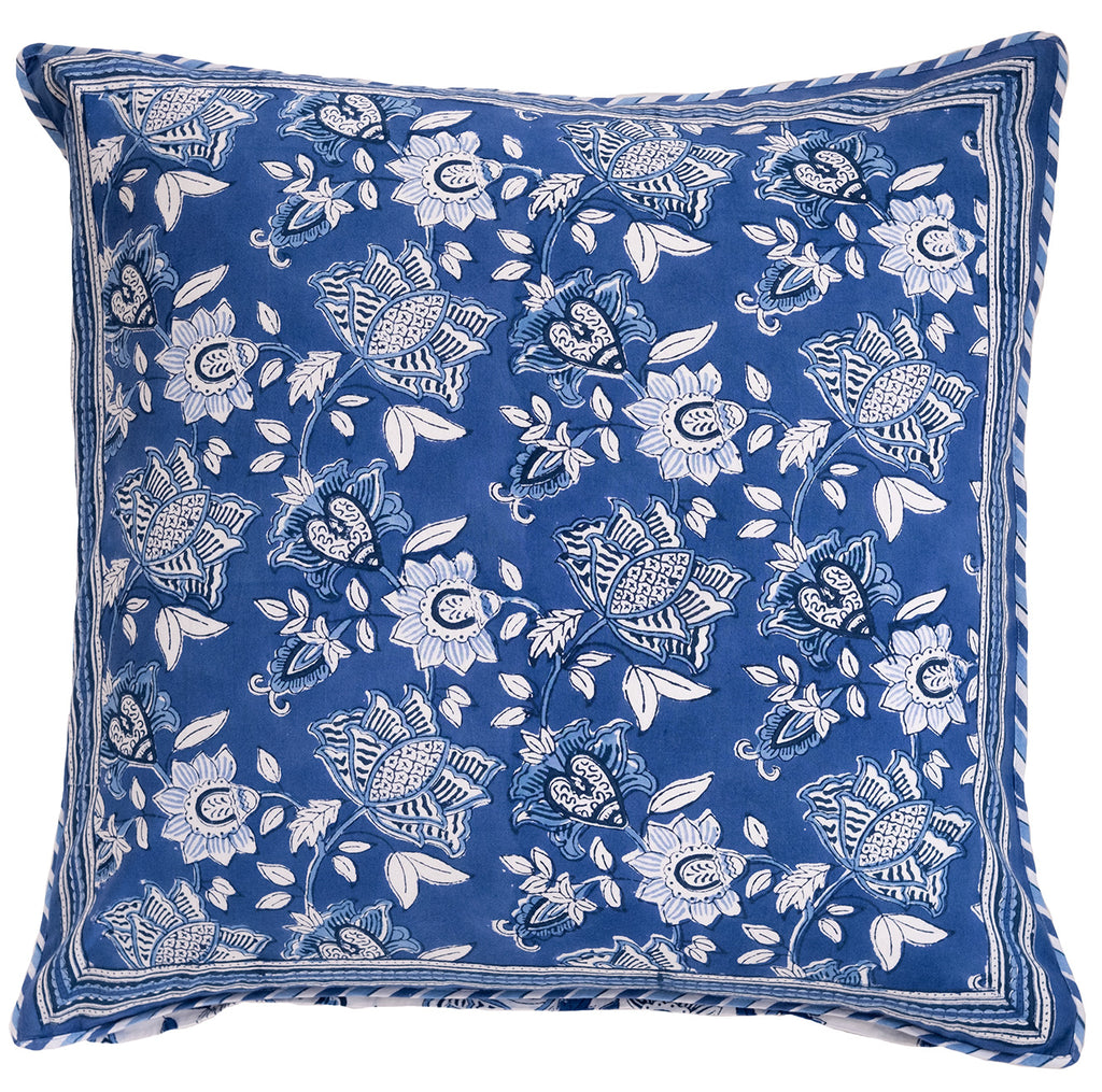 Cushion Covers in Cobalt Blue