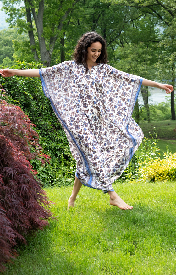 Kaftan in Colonial Floral