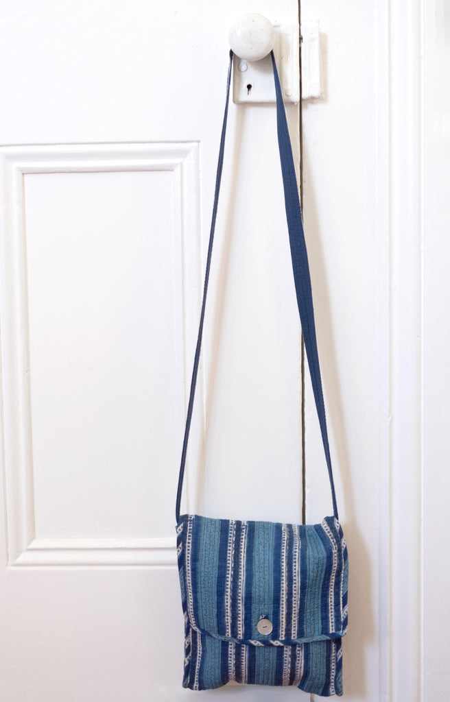 Essentials Bag in Denim Stripe