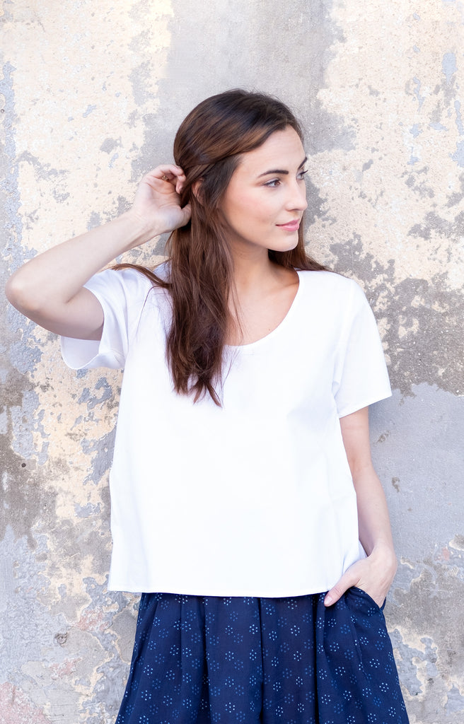 Bundi Tee in White