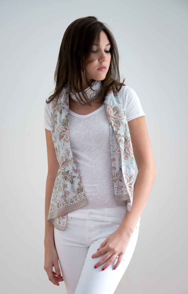 Scarf in Dusk Chintz