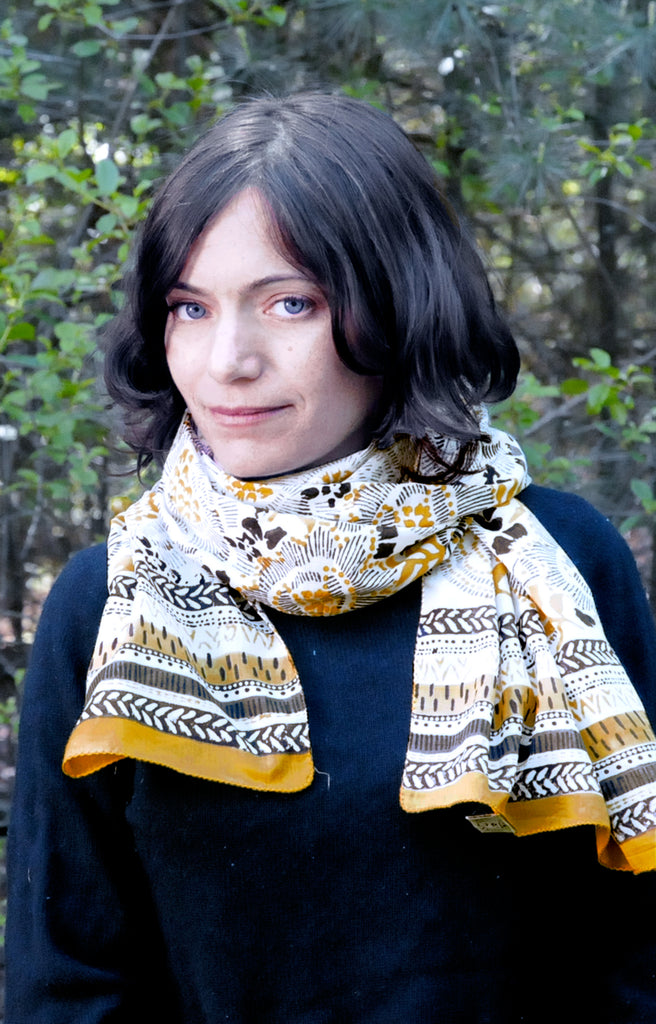 Scarf in Goldenrod