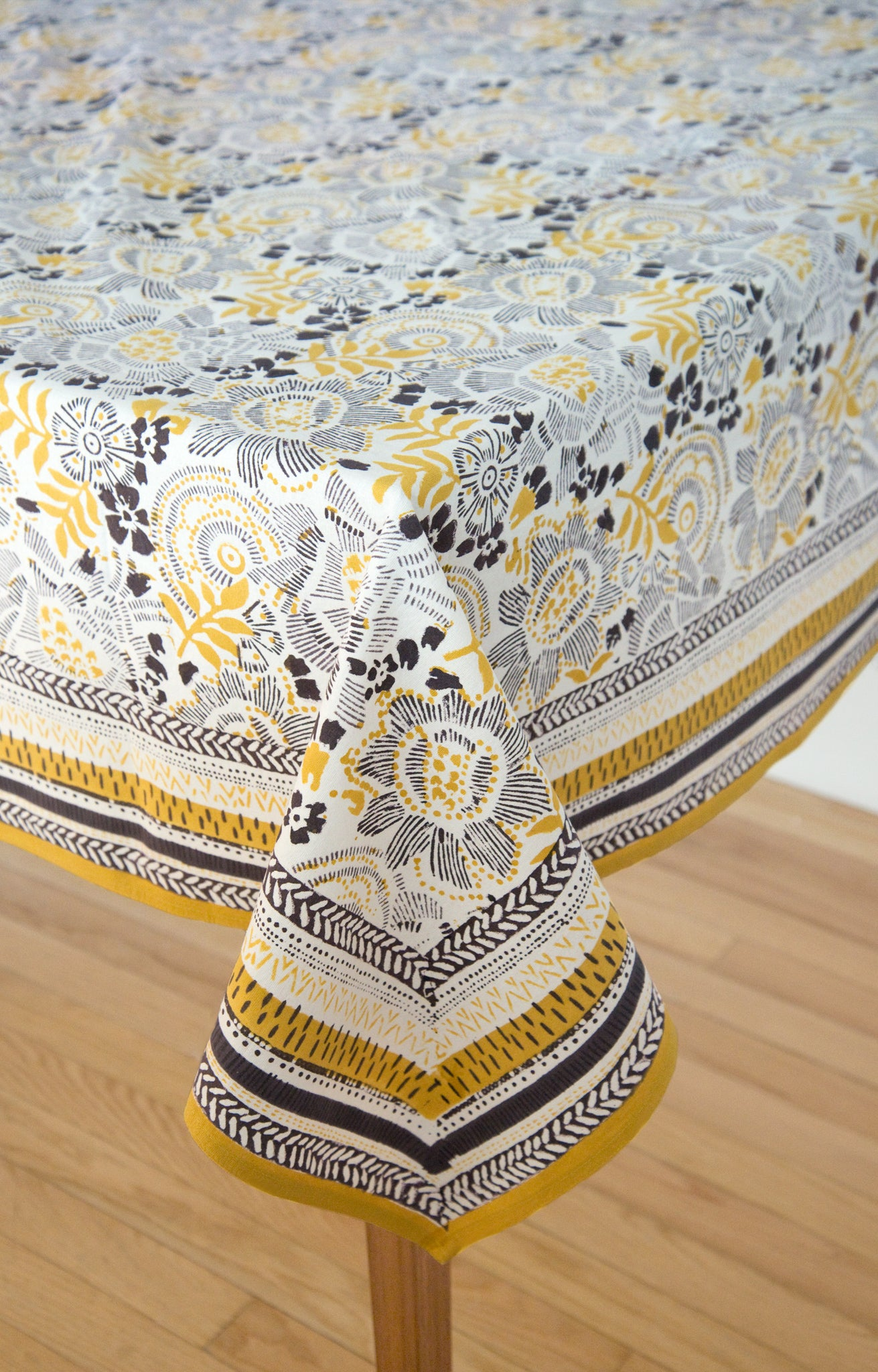 Anokhi USA Table Linens in Goldenrod
