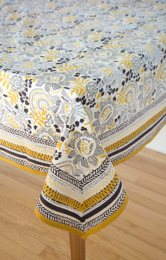 Table Linens in Goldenrod