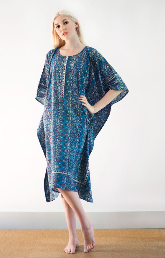 Midi Kaftan in Hippie