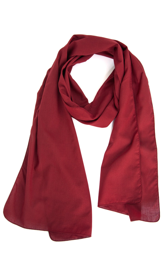 Scarf in Holly Berry