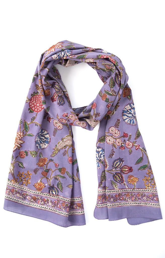 Scarf in Lavender India
