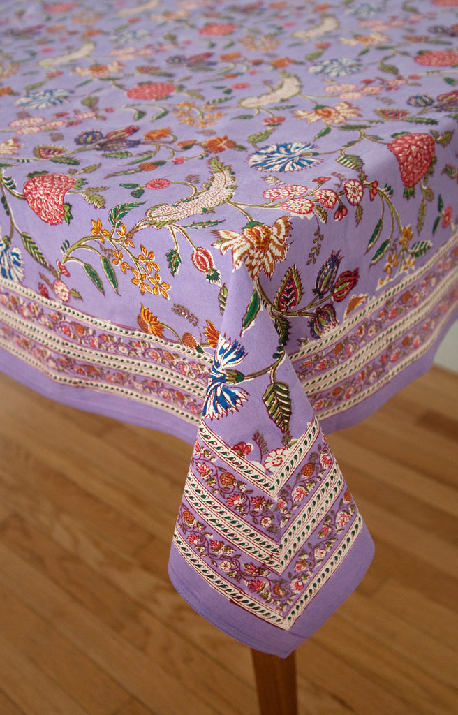 Table Linens in Lavender India