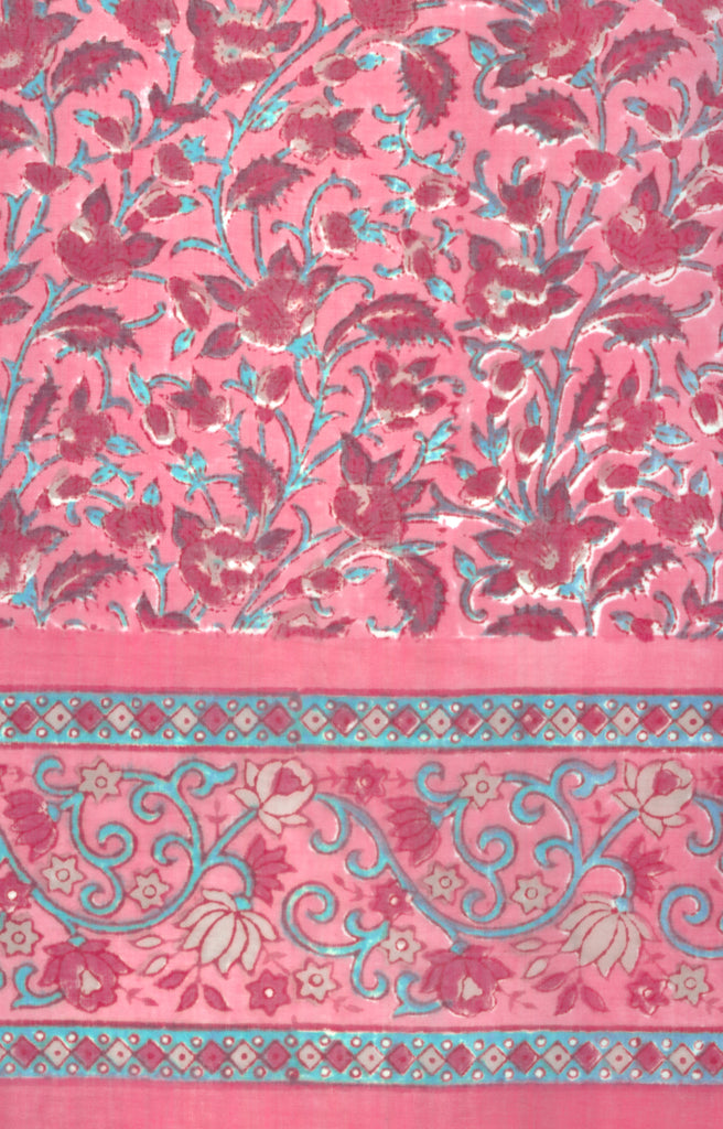 Scarf in Library Pink