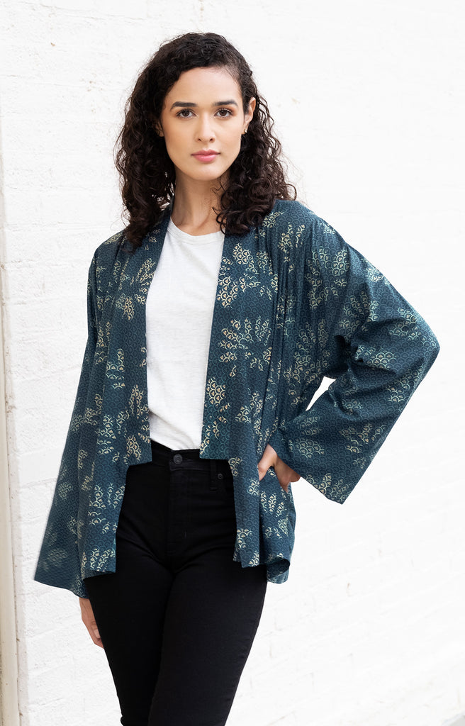 Sara Jacket in Lotus