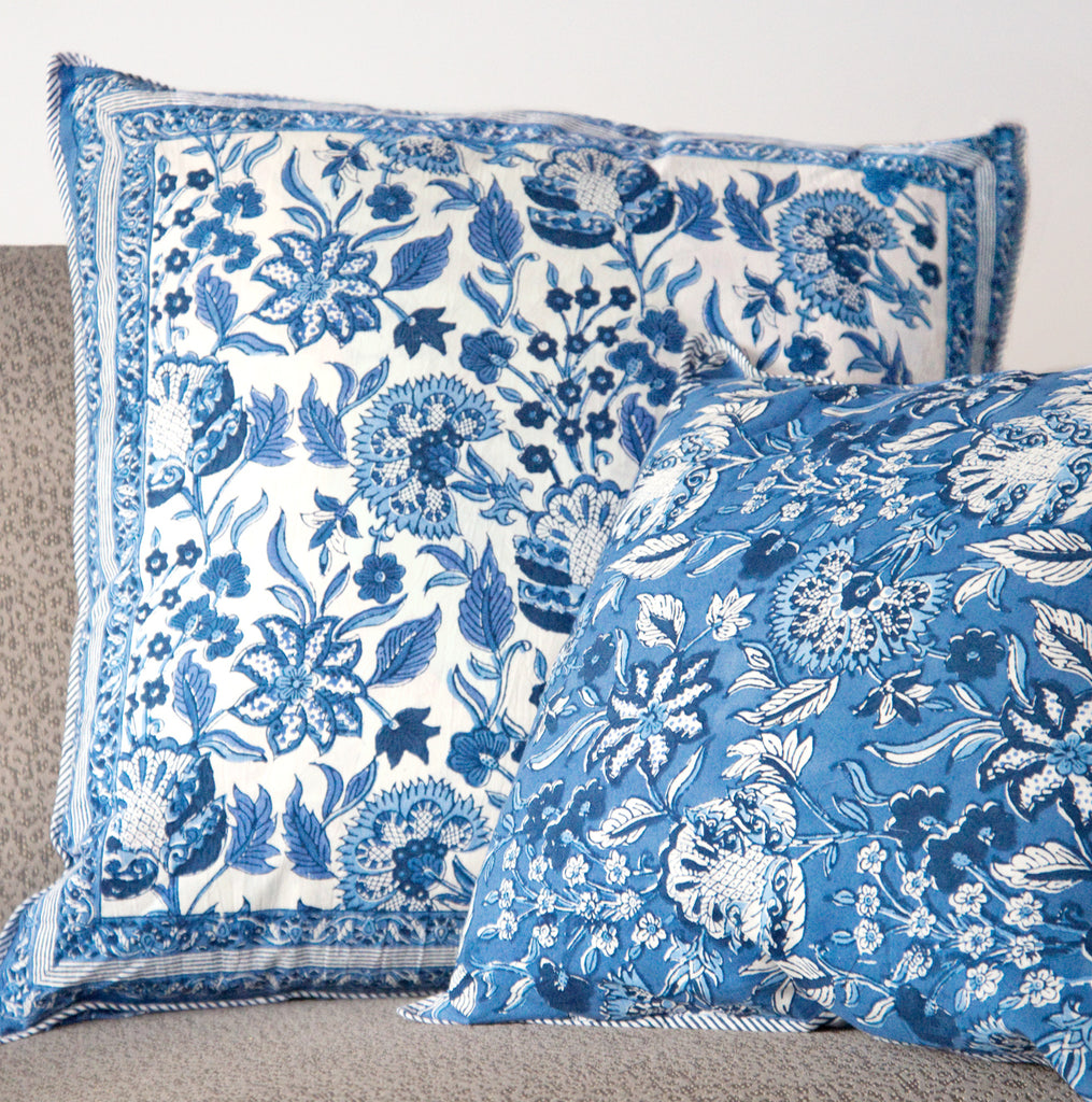 Cushion Covers in Ming White