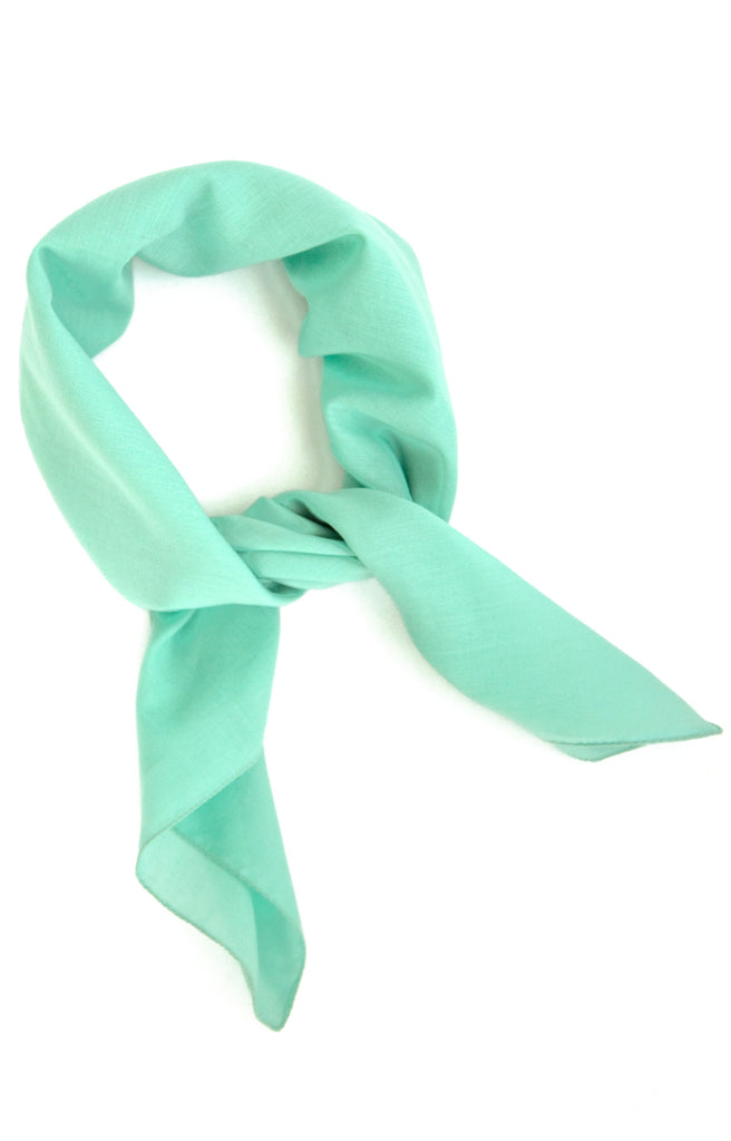 Scarf in Mint