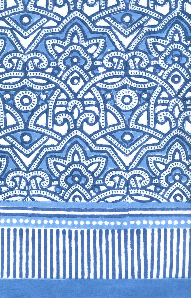 Sarong in Moroccan Blue