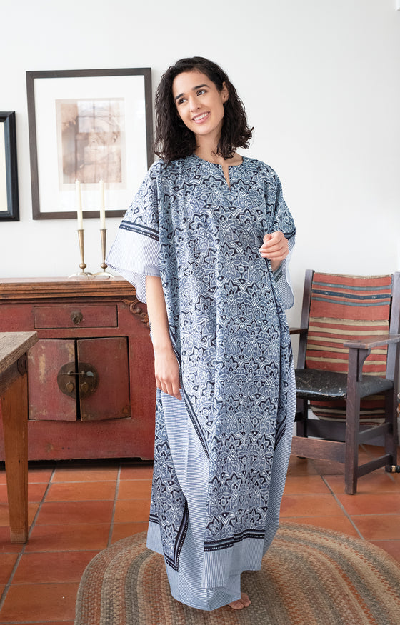 Kaftan in Moroccan Grey