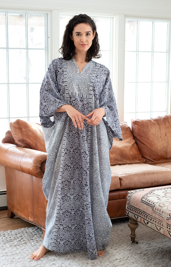 Drama Queen Kaftan in Moroccan Grey