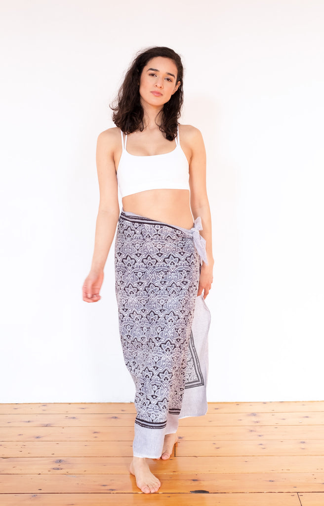 Sarong in Moroccan Grey