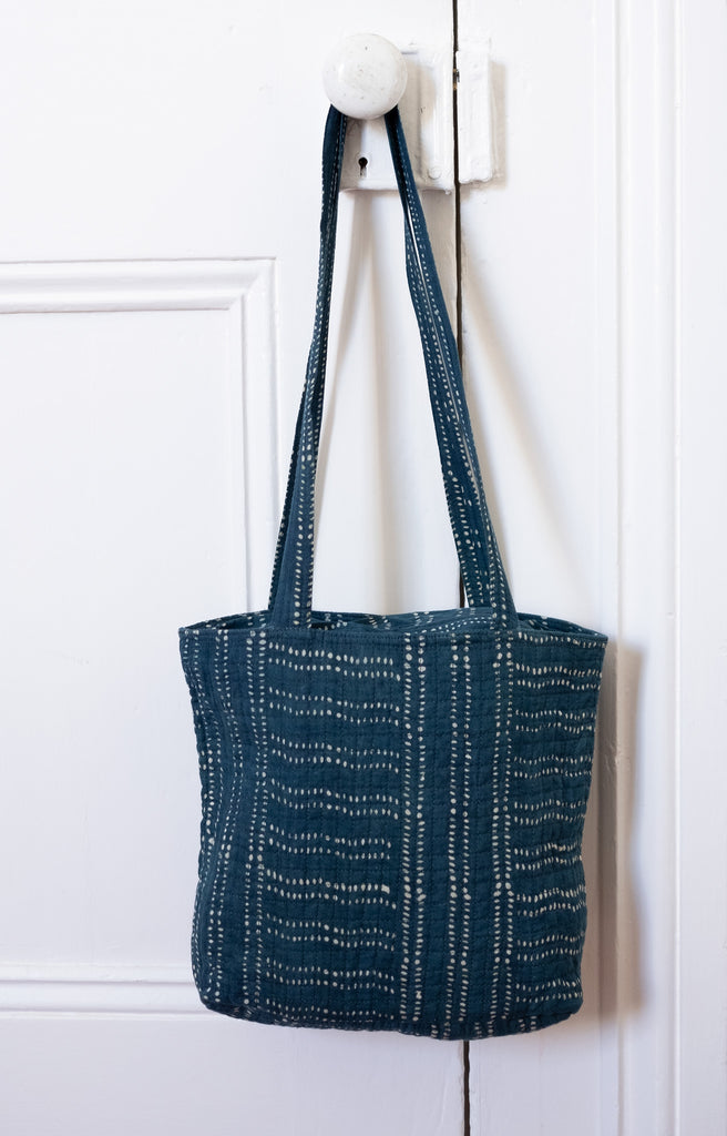 City Bag in Morse Code