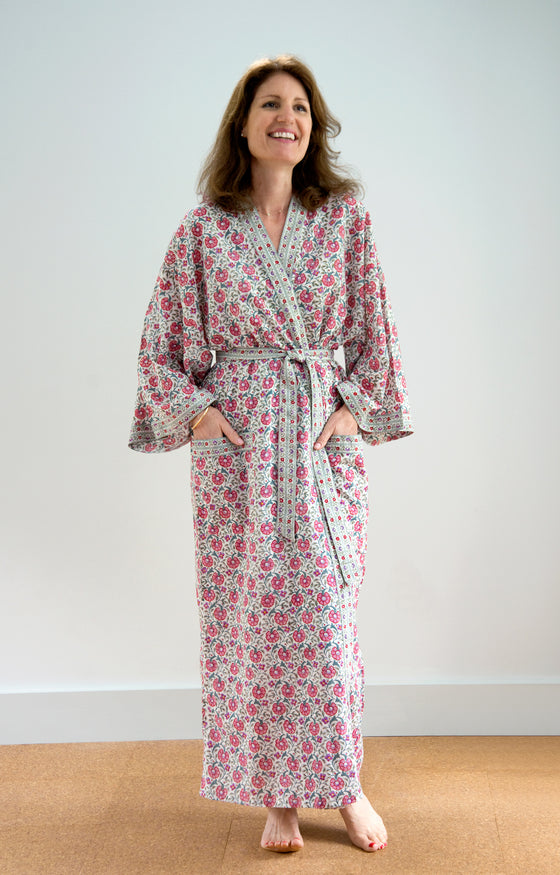Long Kimono in Natural Cheer
