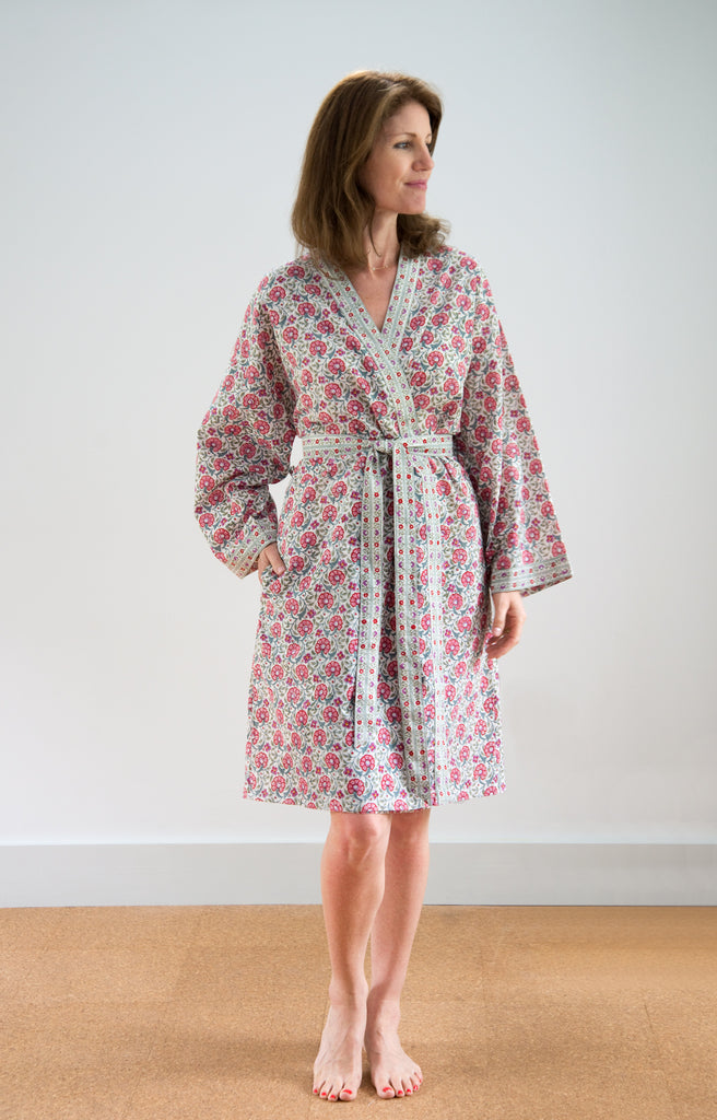Short Kimono in Natural Cheer