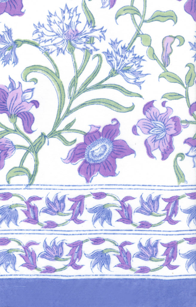 Sarong in Purple Thistle