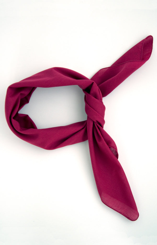 Scarf in Raspberry