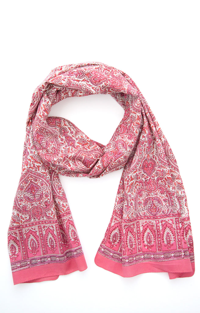 Scarf in Rose Palace