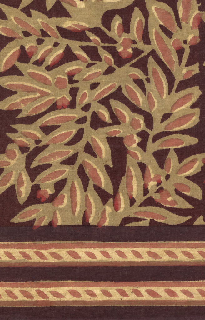 Sarong in Rust Leaves