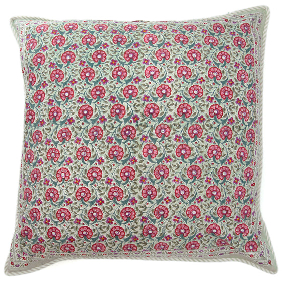 Cushion Covers in Sage Cheer