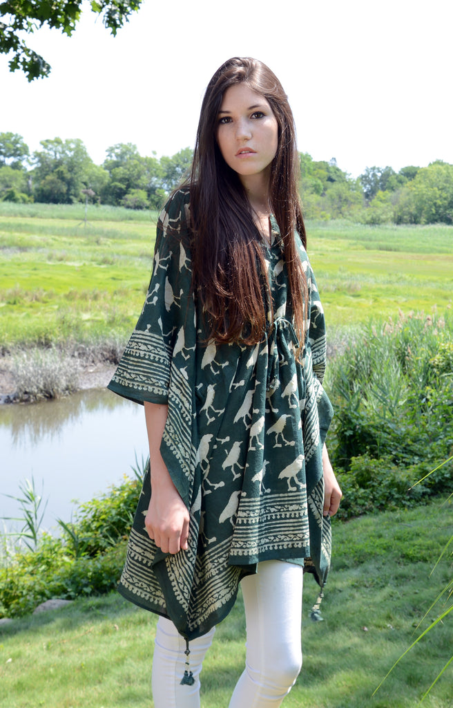 peasant tunic in Sandpipers