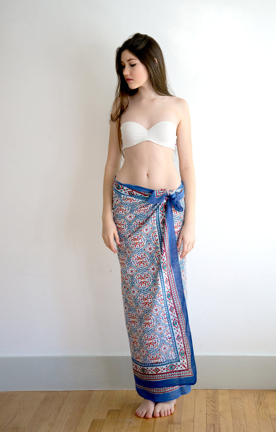 Sarong in Scandinavian Kaleidoscope