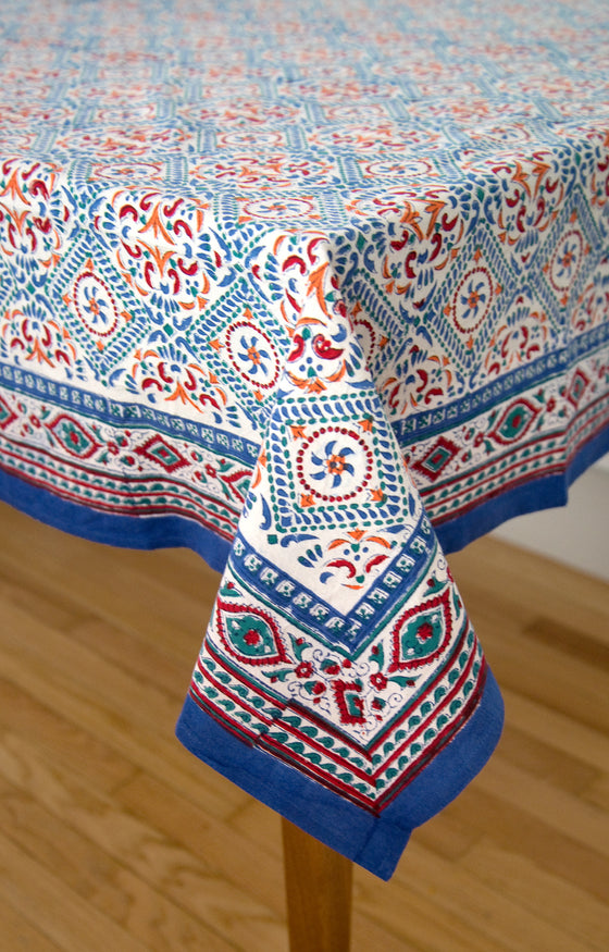 Table Linens in Scandinavian Kaleidoscope