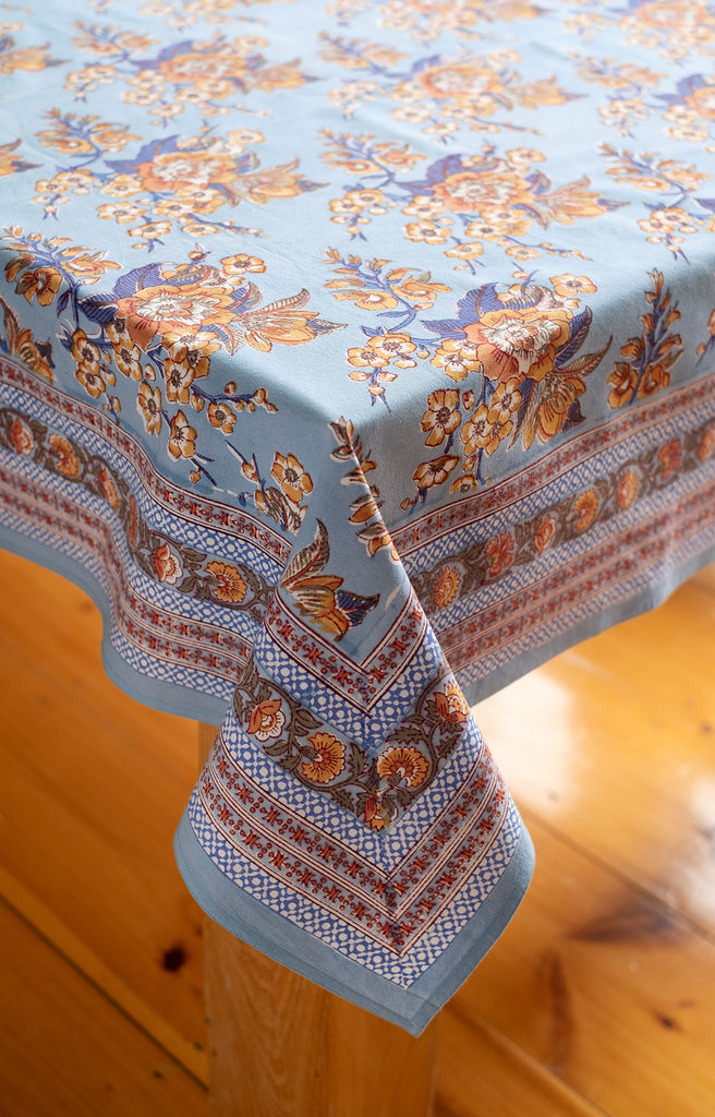 Table Linens in Sienna Twilight