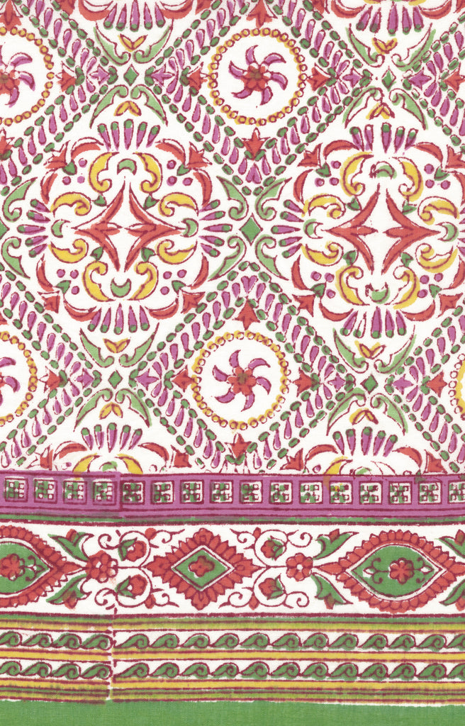 Table Linens in Summer Kaleidoscope