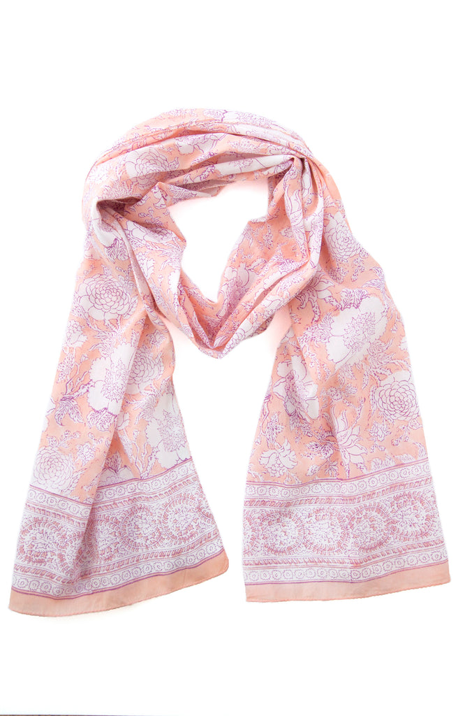 Scarf in Sweet Coral