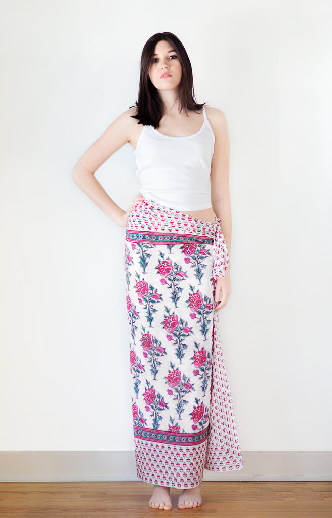 Sarong in Tea Rose