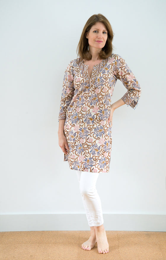 Bias Tunic in Trellis